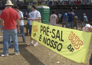 Brasília - Jovens participam da manifestação(Agência Brasil)